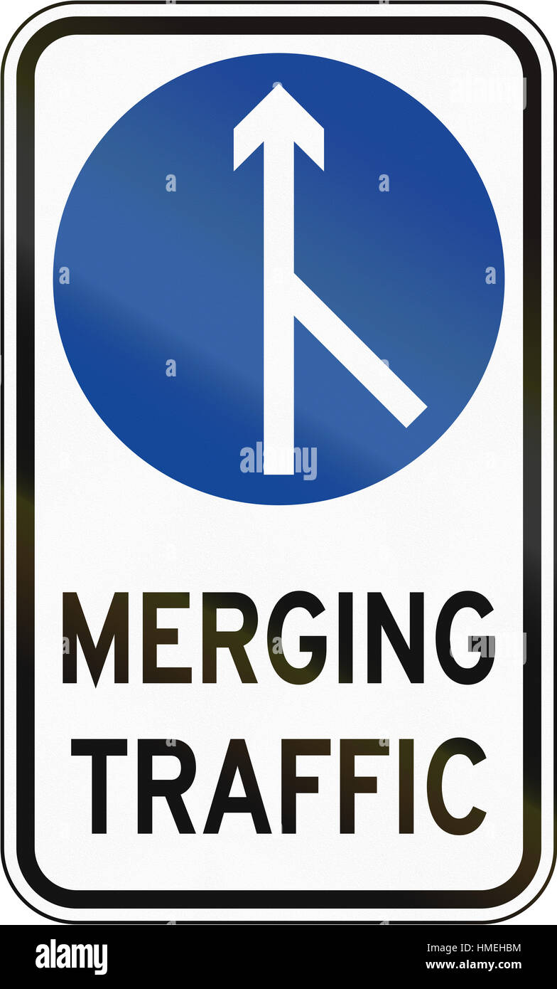 Road sign in the philippines merging traffic stock photo road sign in the philippines merging traffic buycottarizona Image collections