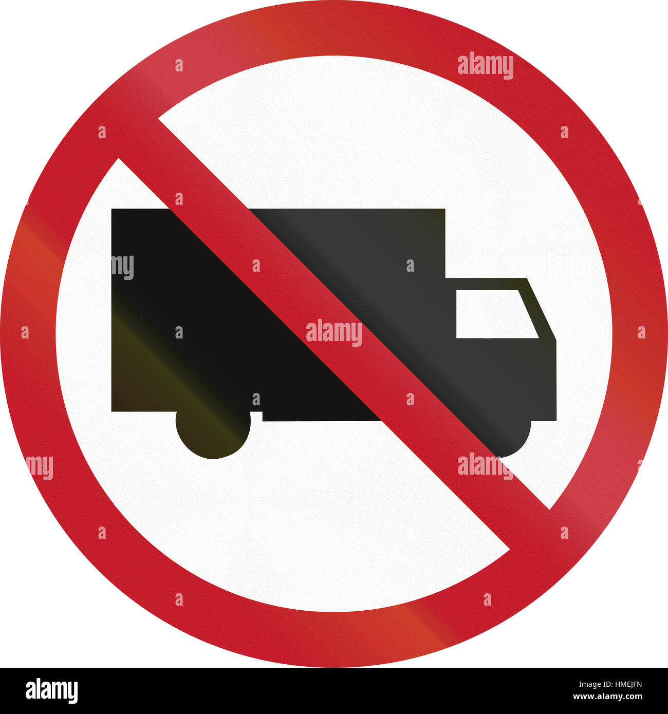 Road sign in the philippines no entry for trucks stock photo road sign in the philippines no entry for trucks buycottarizona Image collections