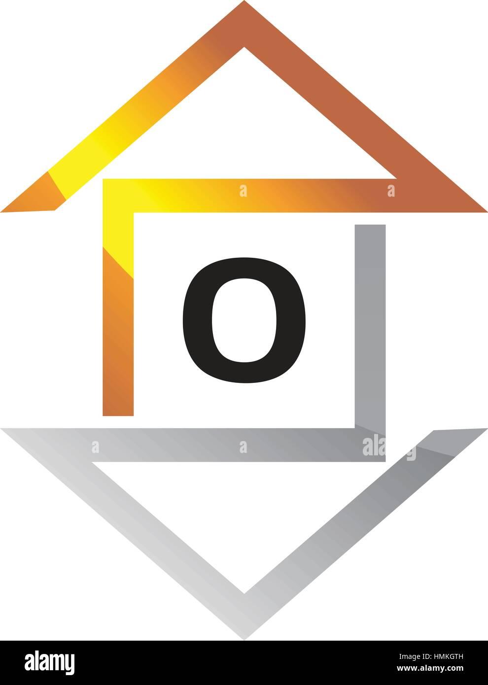 Real estate letter o stock vector art illustration vector image real estate letter o biocorpaavc