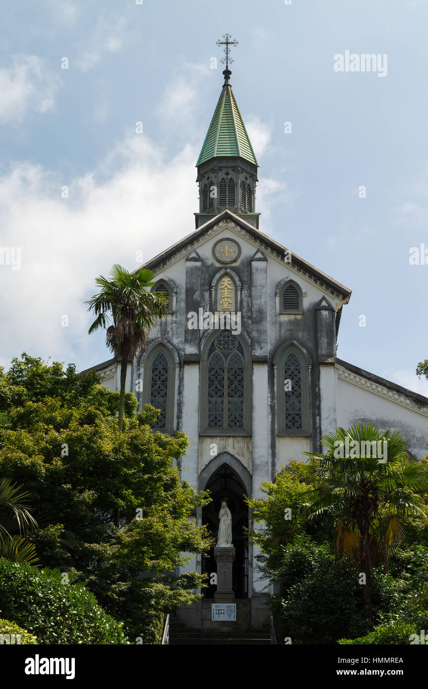 Oura church in nagasaki japan it is listed on tentative for World heritage site list