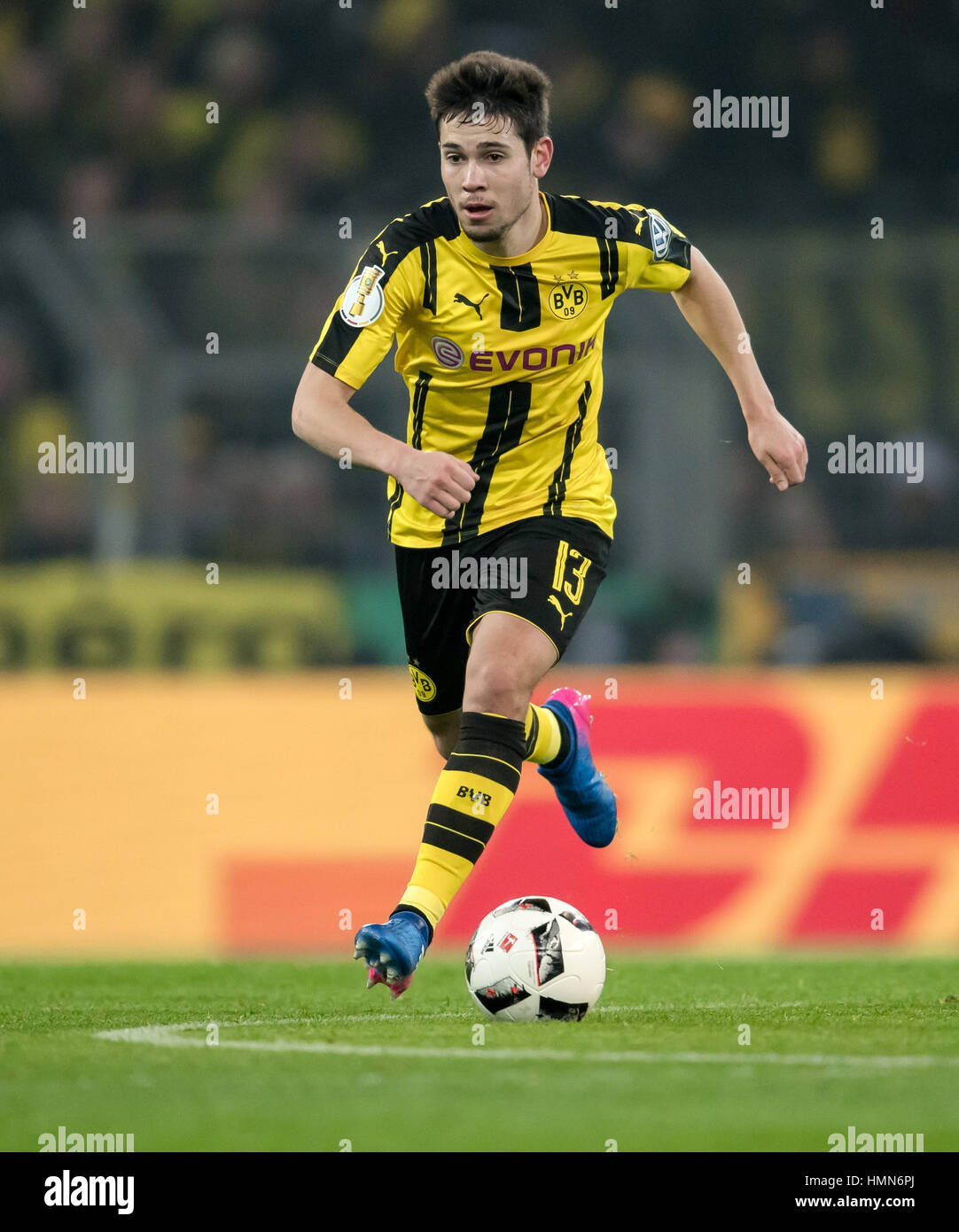 Dortmund Germany 8th Feb 2017 Dortmund s Raphael Guerreiro in