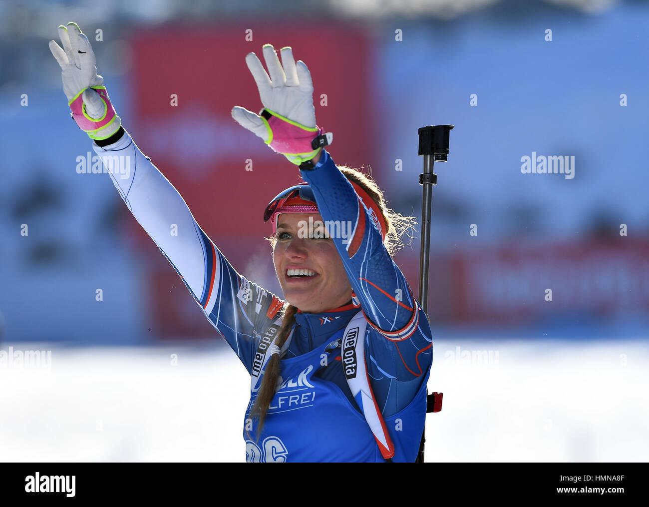 sprint biathlon damen