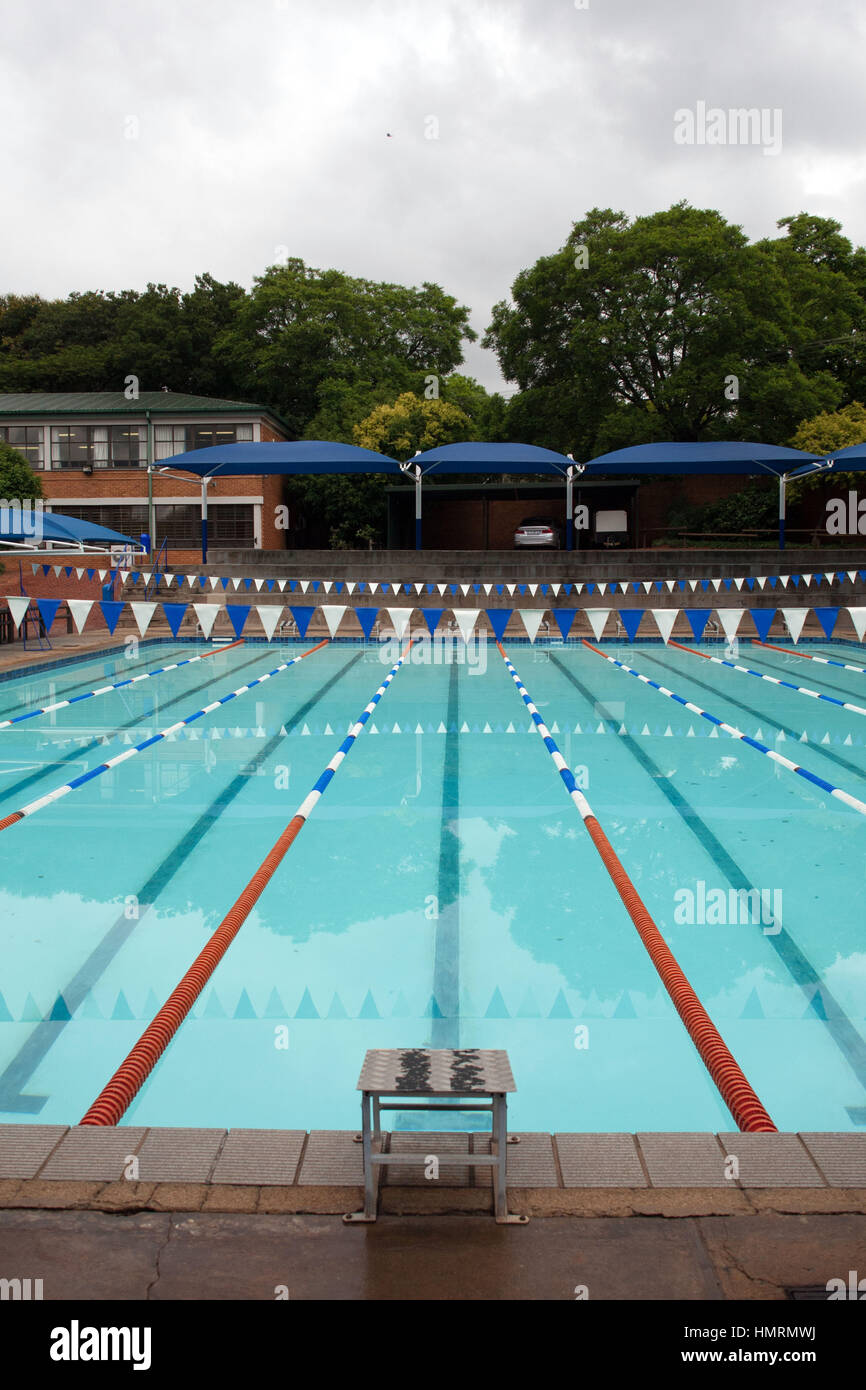 Johannesburg South Africa 26th Jan 2017 A Swimming Pool Belonging Stock Photo Royalty Free