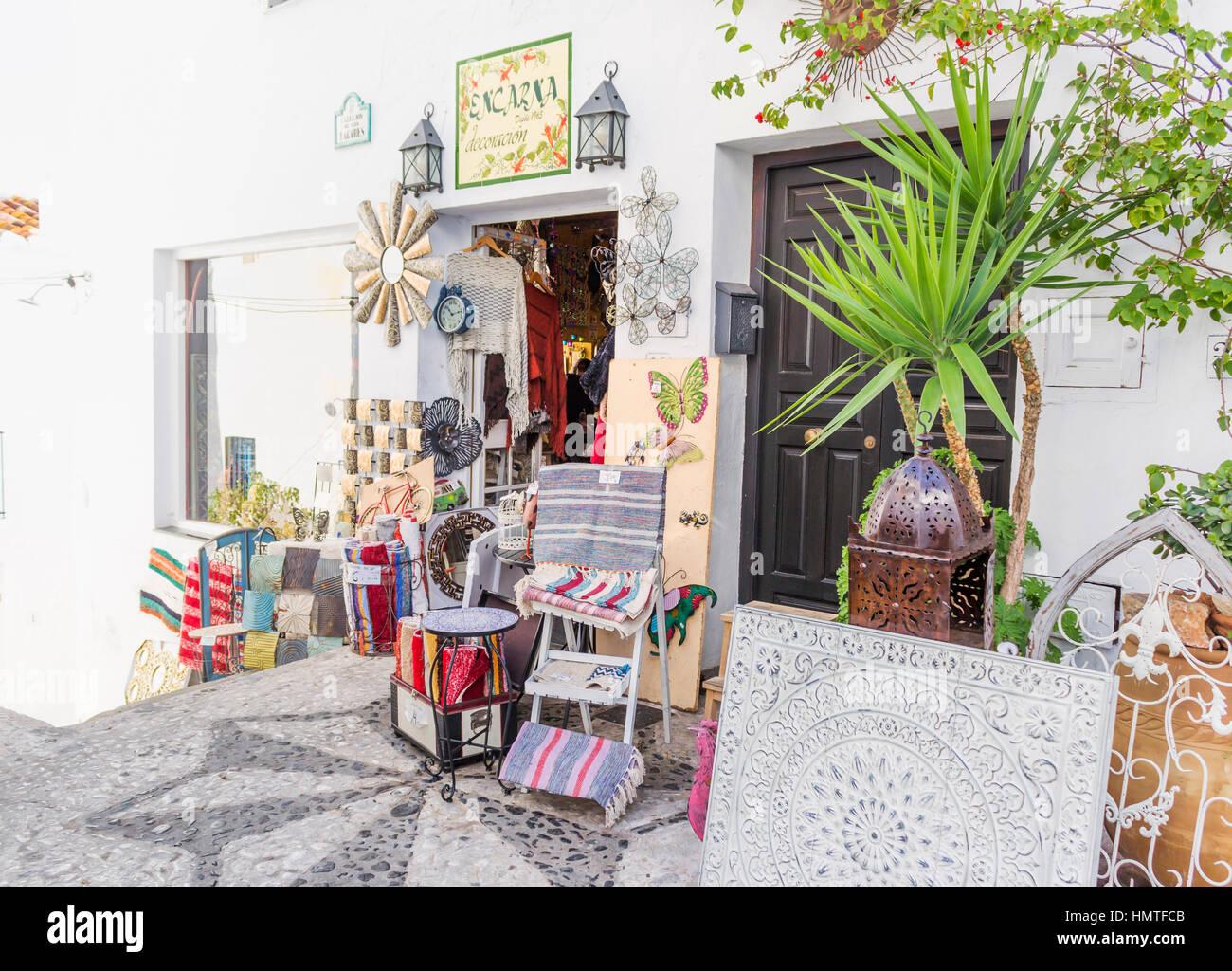 Frigiliana Malaga Province Andalusia Southern Spain Shop  # Muebles Mogar Malaga