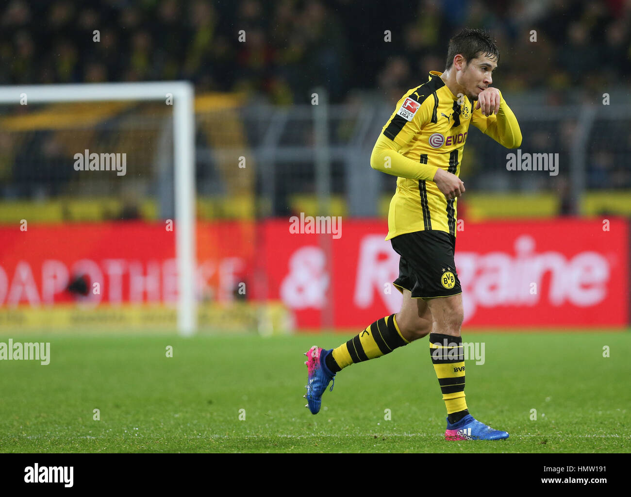 Dortmund Germany 4th Feb 2017 Dortmund s Raphael Guerreiro