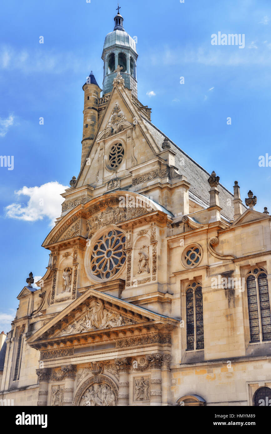 SaintEtienneduMont Is A Church In Paris France Located On The - Where is france located