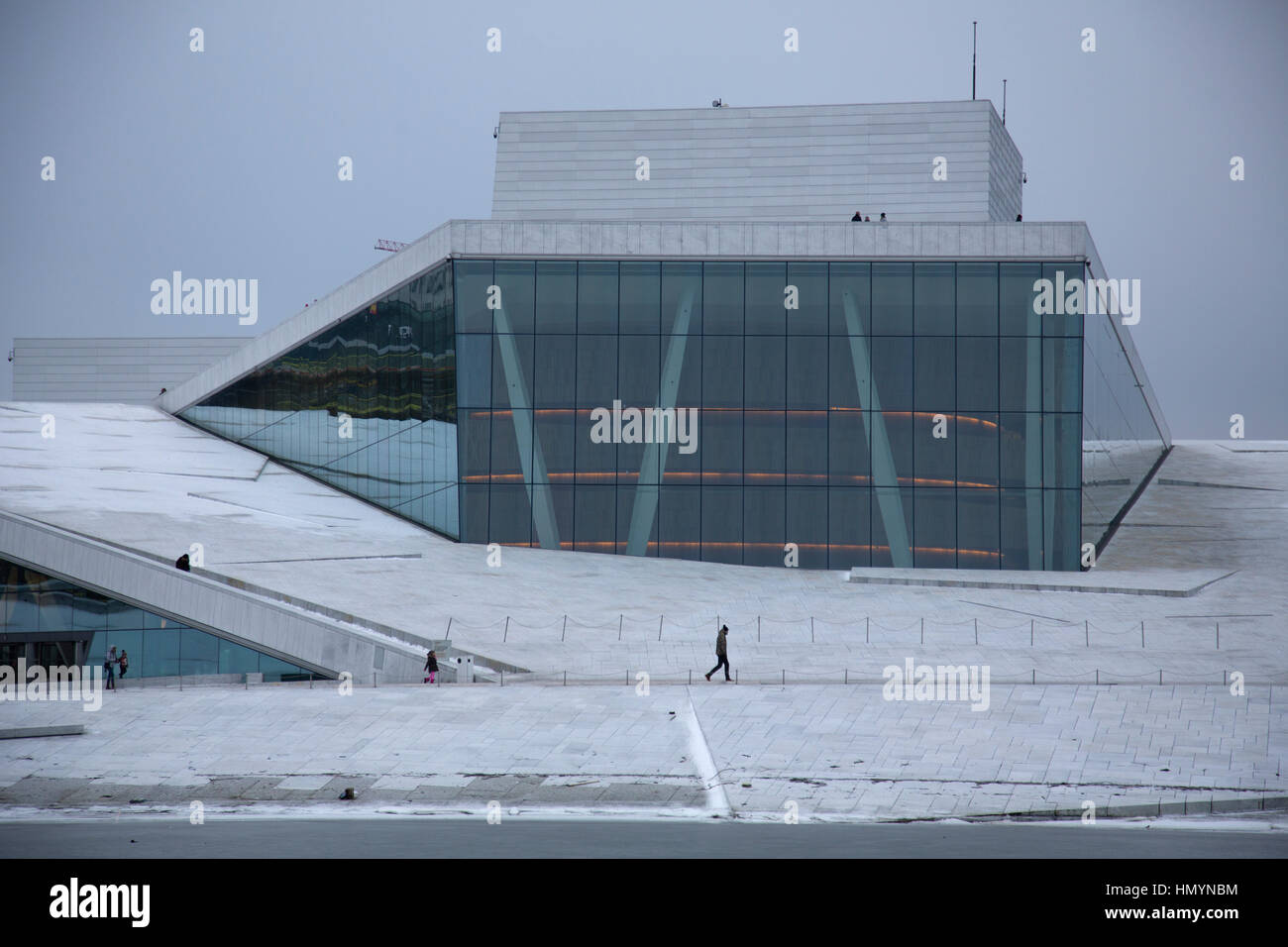 The Oslo Opera House, Is The Home Of The Norwegian National Opera And  Ballet, And The National Opera Theatre In Norway, Scandinavia