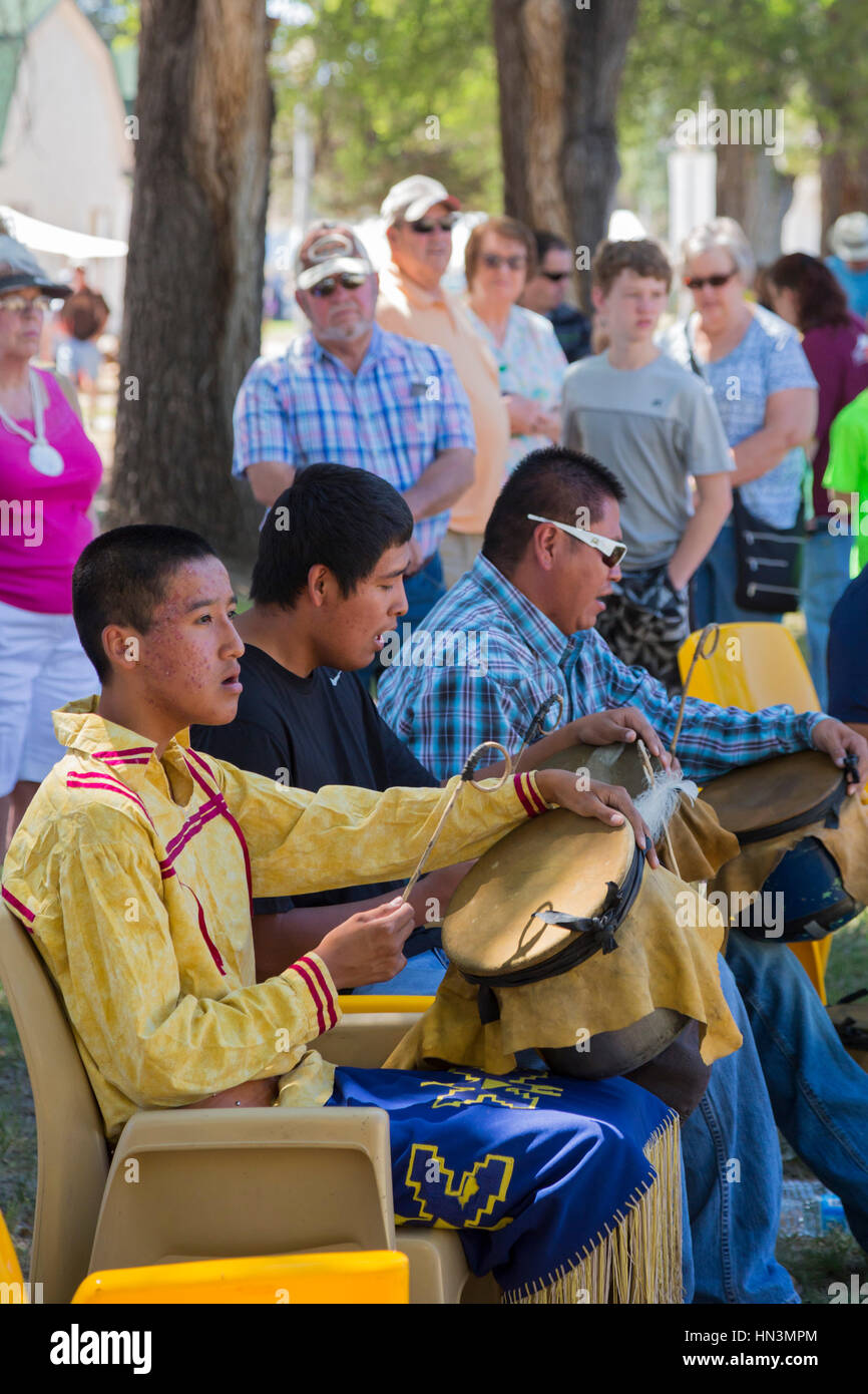Fort stanton new mexico mescalero apache drummers perform at fort stanton live