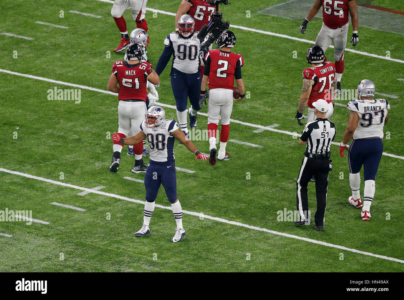 February 05 2017 New England Patriots defensive end Trey Flowers
