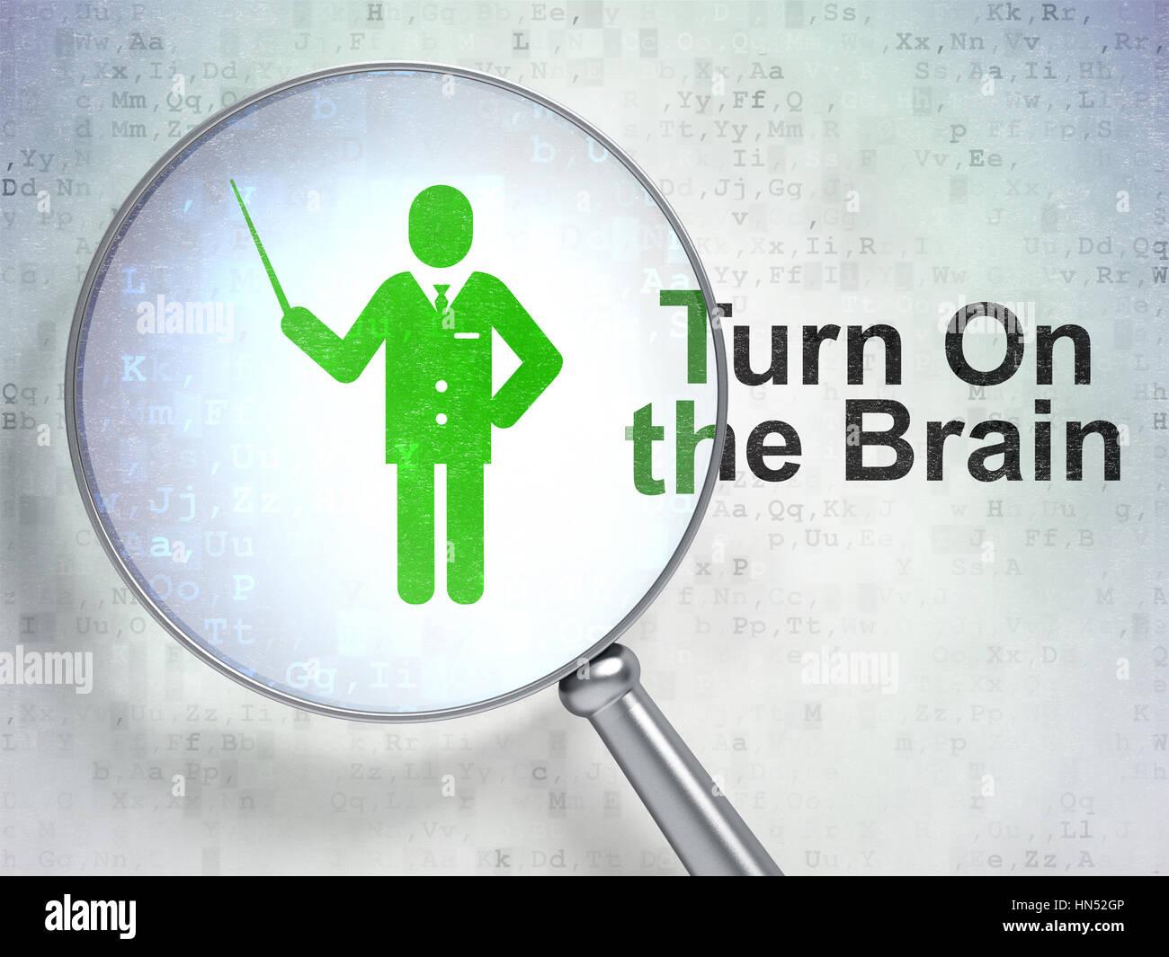 Learning Brain Icon