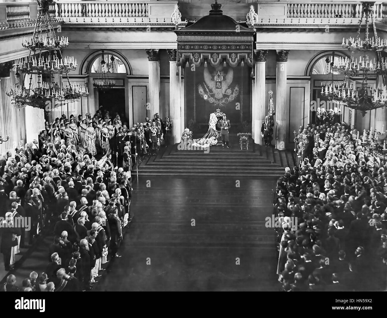 Russian Duma 1905 NICHOLAS II opens the ...