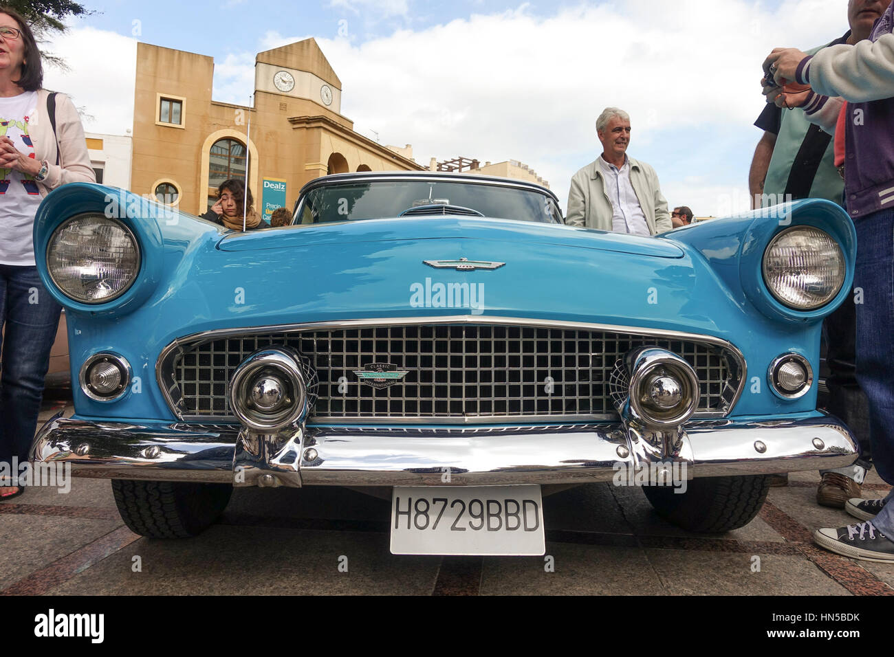Classic Cars From The Fifties On Display At Rockabilly