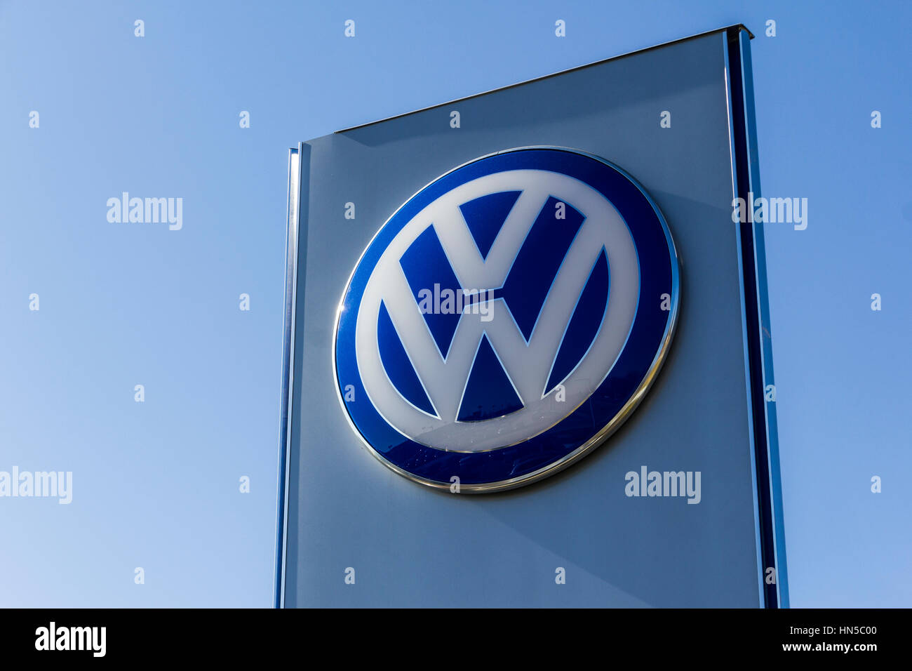 Indianapolis Circa February Volkswagen Cars And SUV Stock - Volkswagen dealership indianapolis