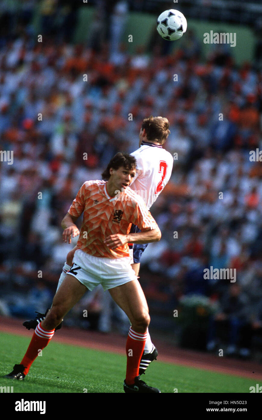 MARCO VAN BASTEN HOLLAND 25 June 1988 Stock Royalty Free