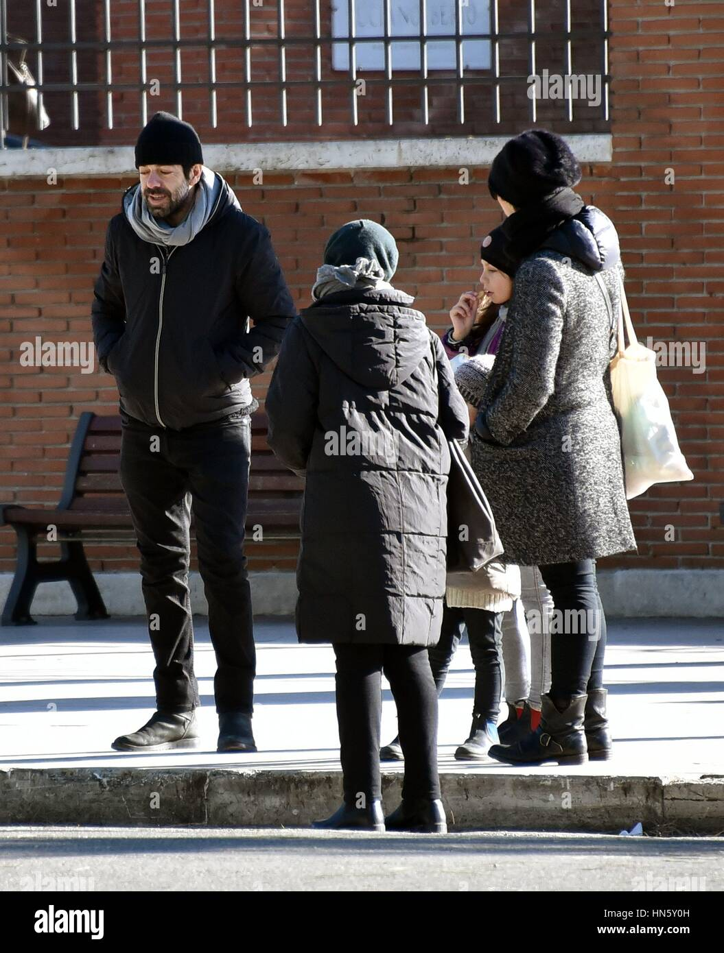 pierfrancesco favino with his wife anna ferzetti and their