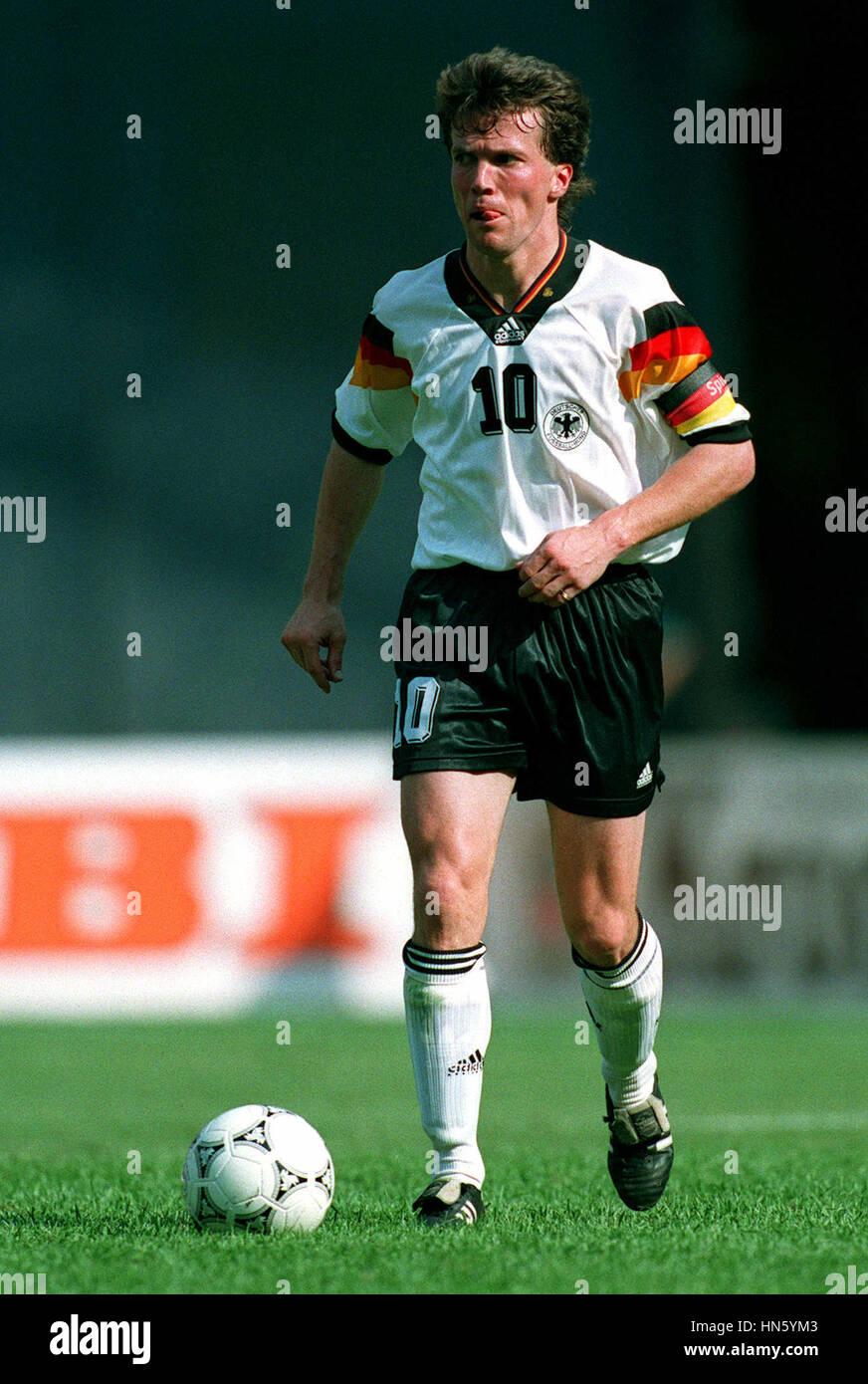 LOTHAR MATTHAUS GERMANY 29 June 1993 Stock Royalty Free