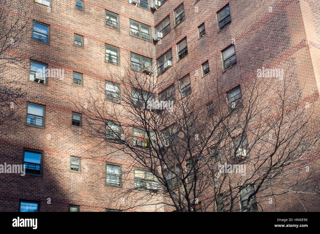 Stock Photo   The Massive NYCHA Elliot Houses Complex Of Apartments In  Chelsea In New York Is Seen On Saturday, February 4, 2017.
