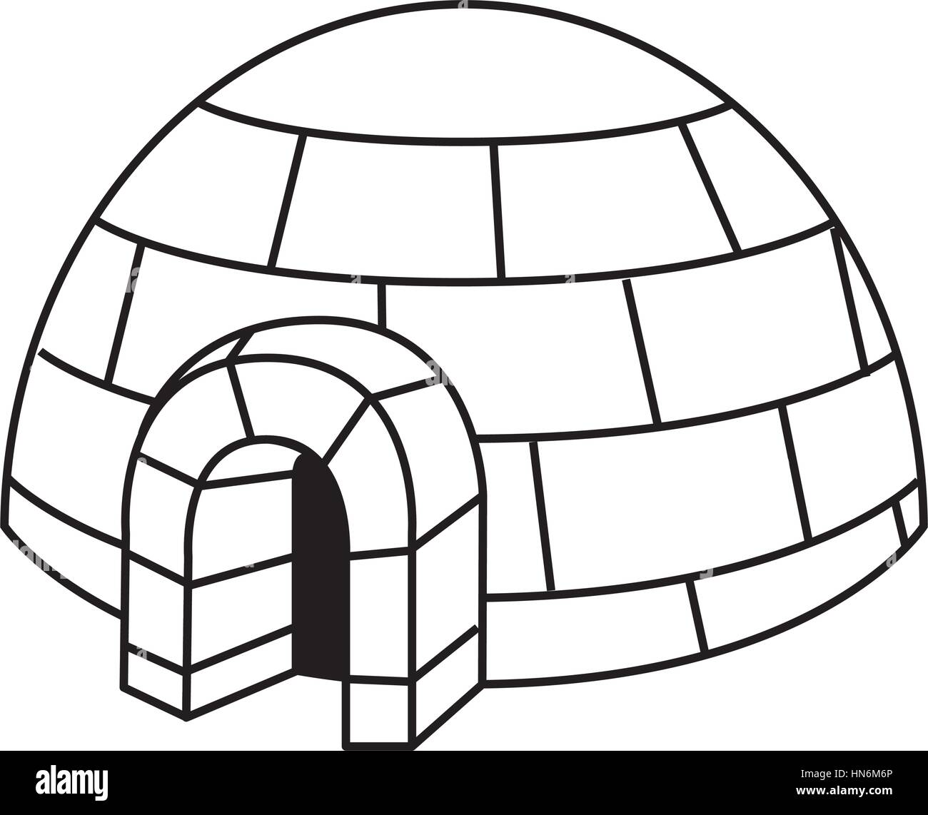 Igloo exterior isolated icon vector illustration design stock igloo exterior isolated icon vector illustration design pooptronica