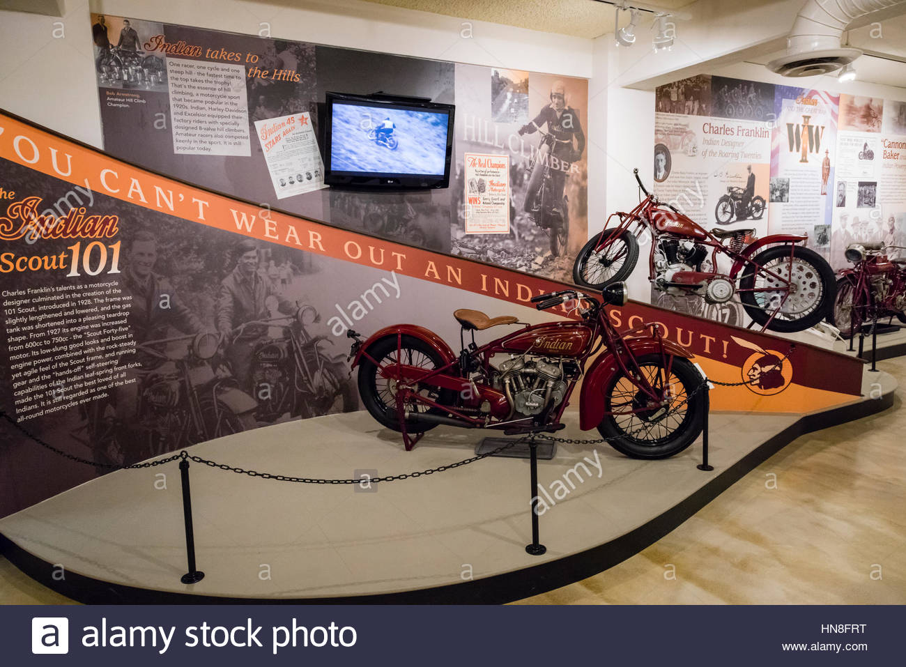 The Esta Manthos Indian Motocycle Collection The Lyman And Merrie - Best history museums in usa