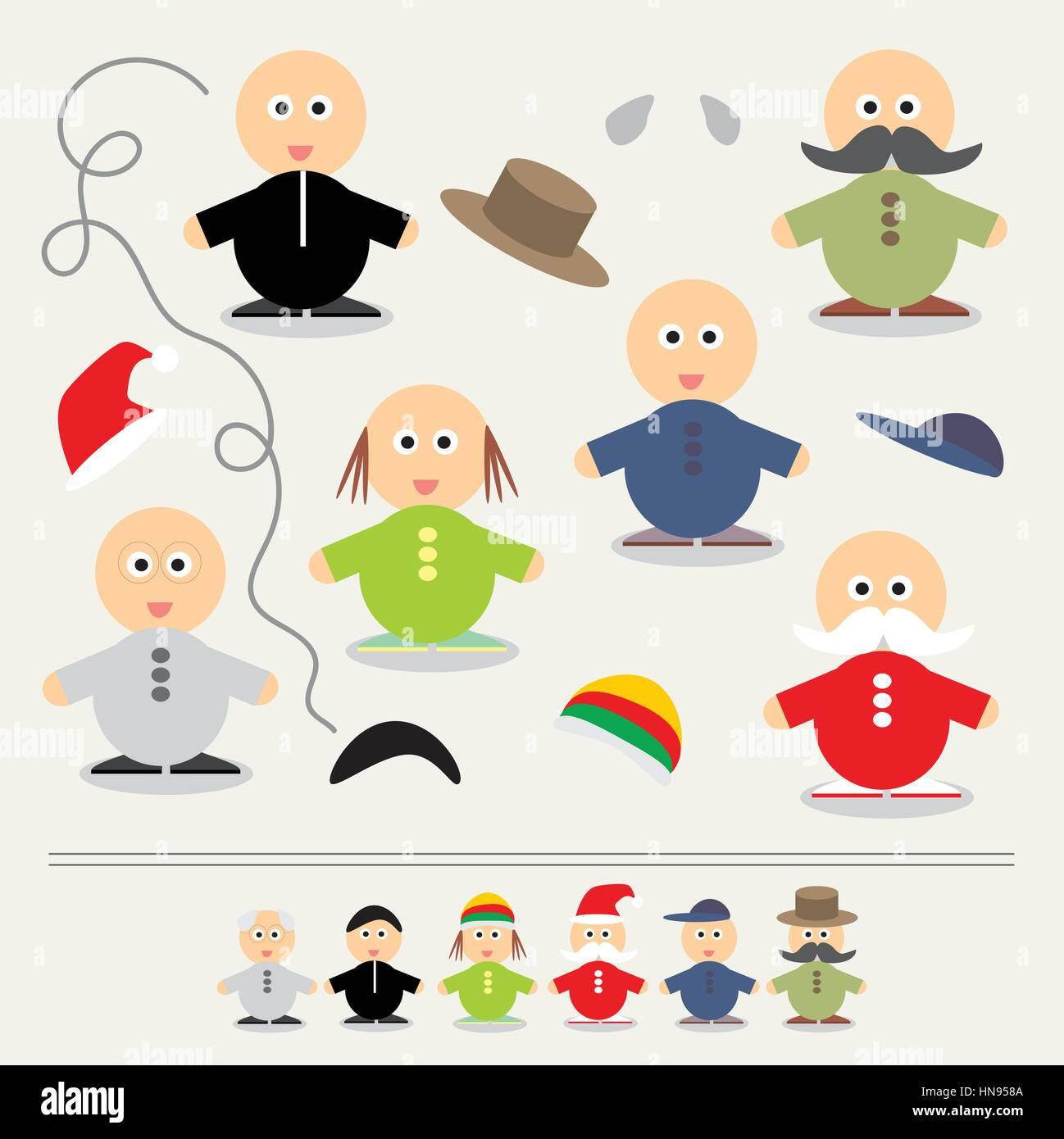 educational game for children color vector illustration stock