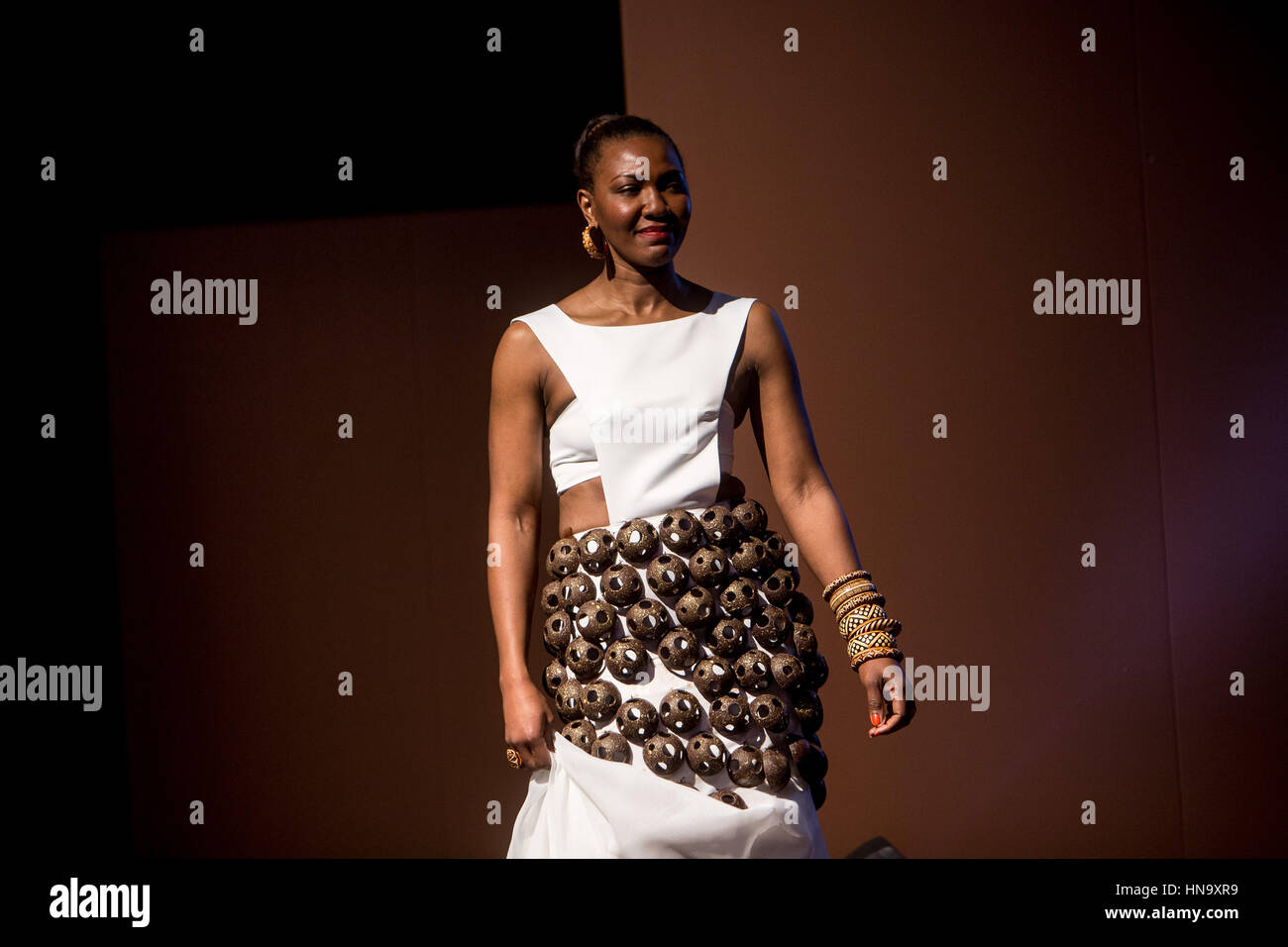 Milan, Italy. 09th Feb, 2017. Chocolate Fashion Show at Salon du ...