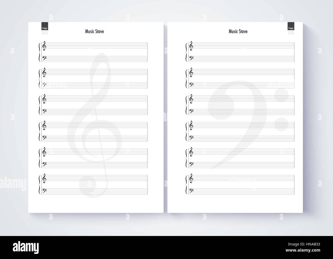 music paper template - gerhard-leixl.tk