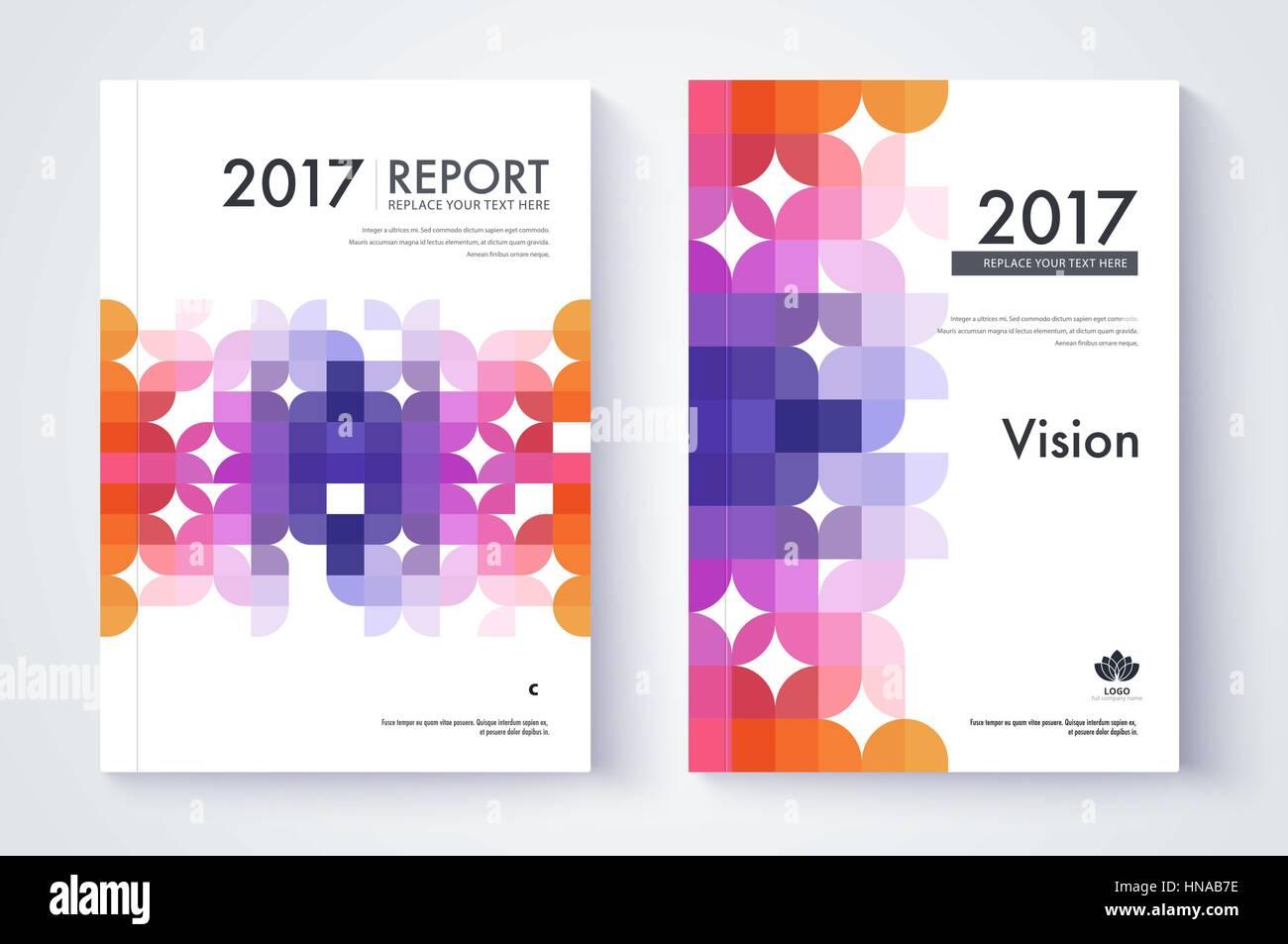 Company Profile Template. Cover Design. Vector Template Background  It Company Profile Template