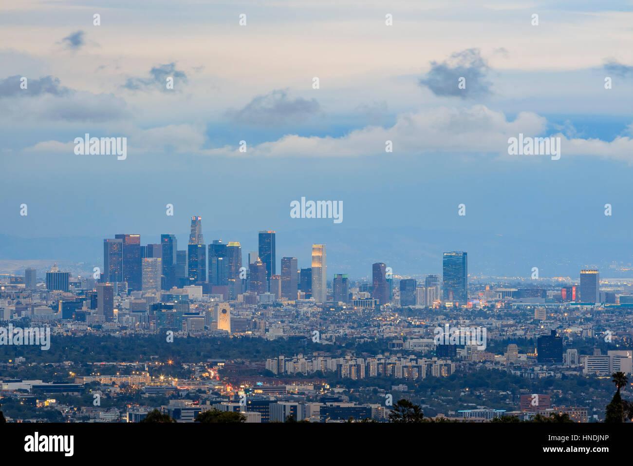 los angeles skyline view - photo #44