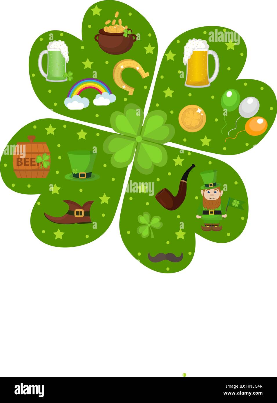 beer clover ireland symbols irish gold holiday smoke