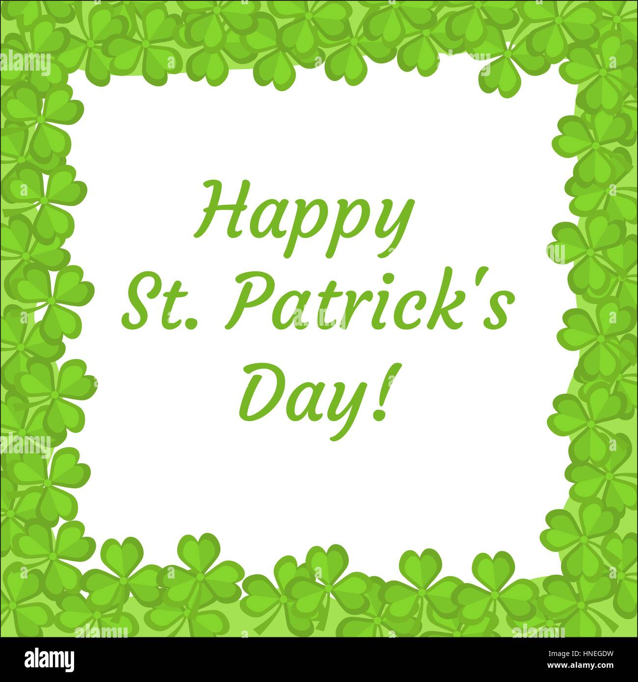 Good St. Patricku0027s Day Greeting Card, Invitation, Poster, Flyer. Template For  Your