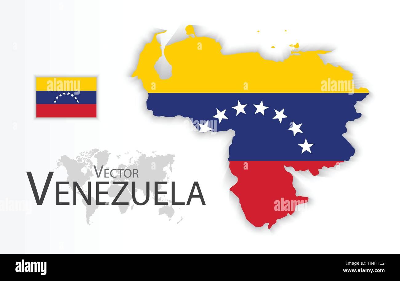 Venezuela bolivarian republic of venezuela flag and map venezuela bolivarian republic of venezuela flag and map transportation and tourism concept sciox Images