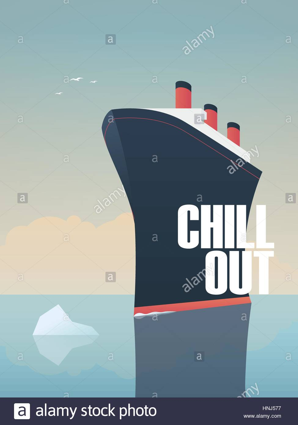 Big ship sailing on sea with iceberg in its way symbol of relax big ship sailing on sea with iceberg in its way symbol of relax and calm holiday buycottarizona