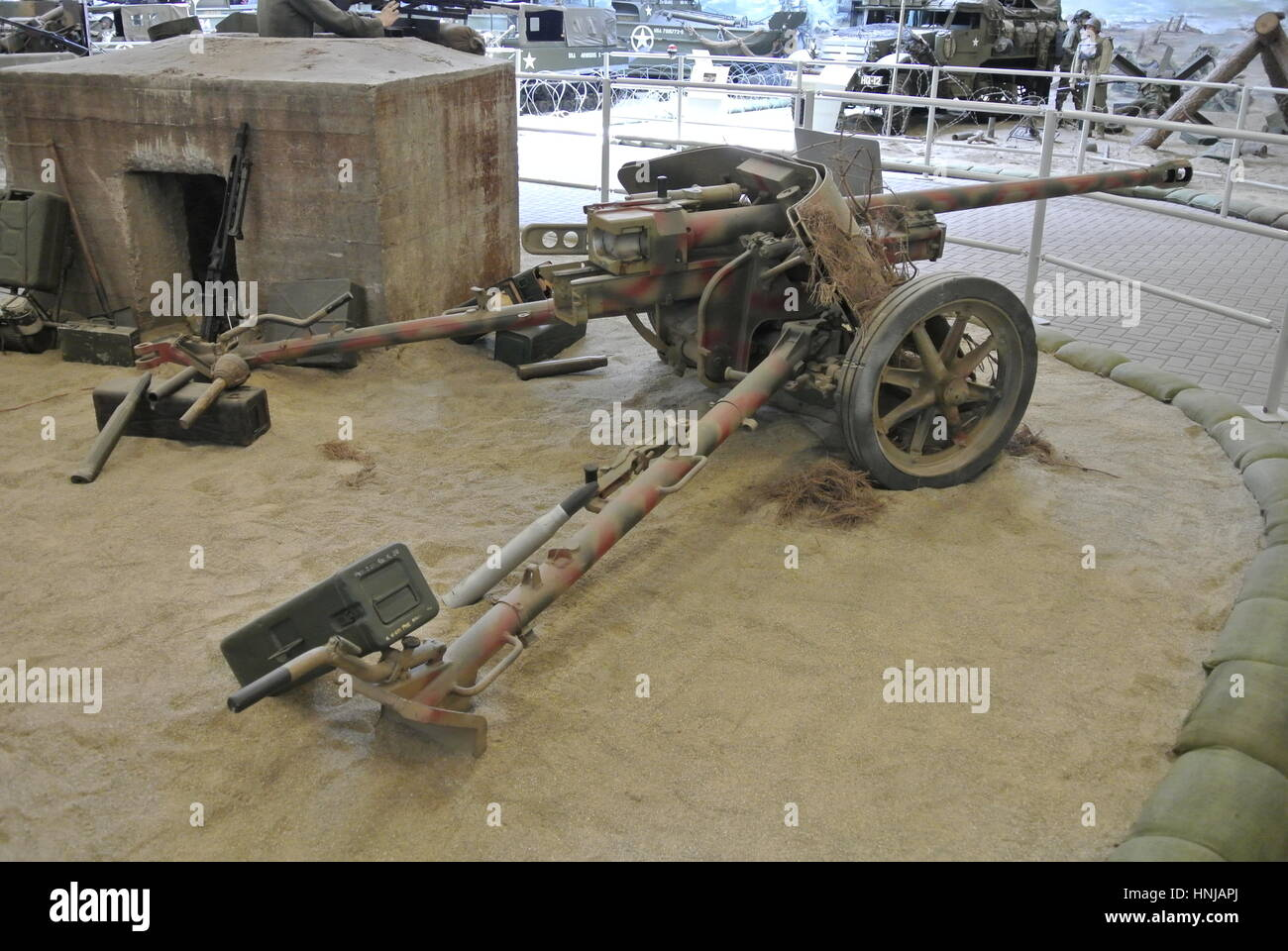 German 50 Mm Anti Tank Gun: German Pak 38 Anti-Tank Gun Stock Photo, Royalty Free