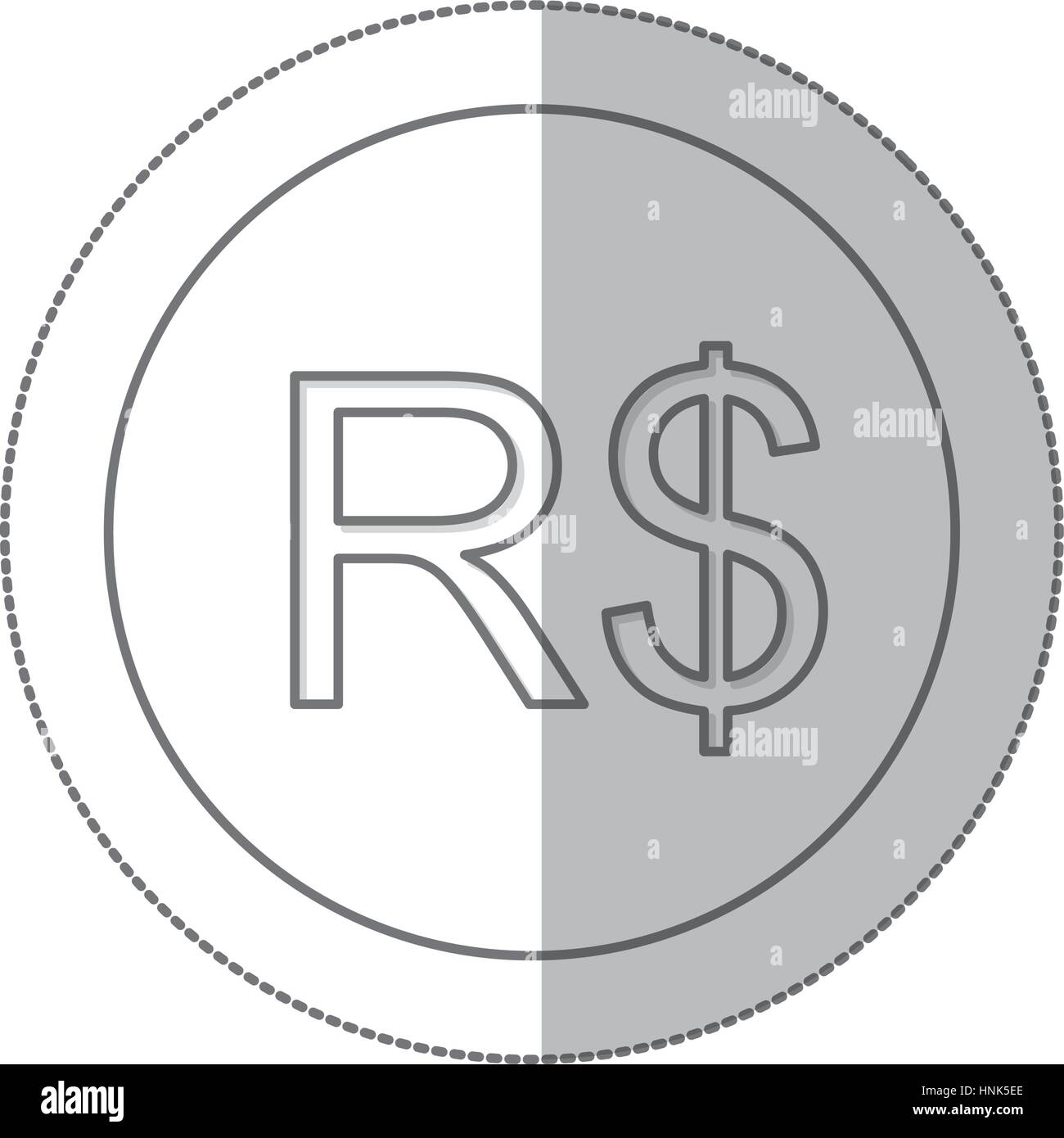 Real brazil currency symbol icon image vector illustration stock real brazil currency symbol icon image vector illustration buycottarizona Images