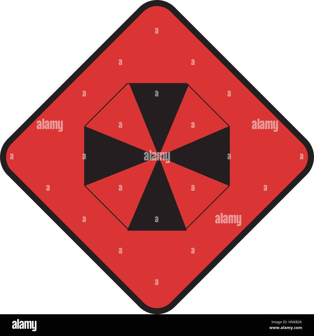 Alerting stock vector images alamy diamond shape with hazard symbol vector illustration stock vector biocorpaavc Gallery
