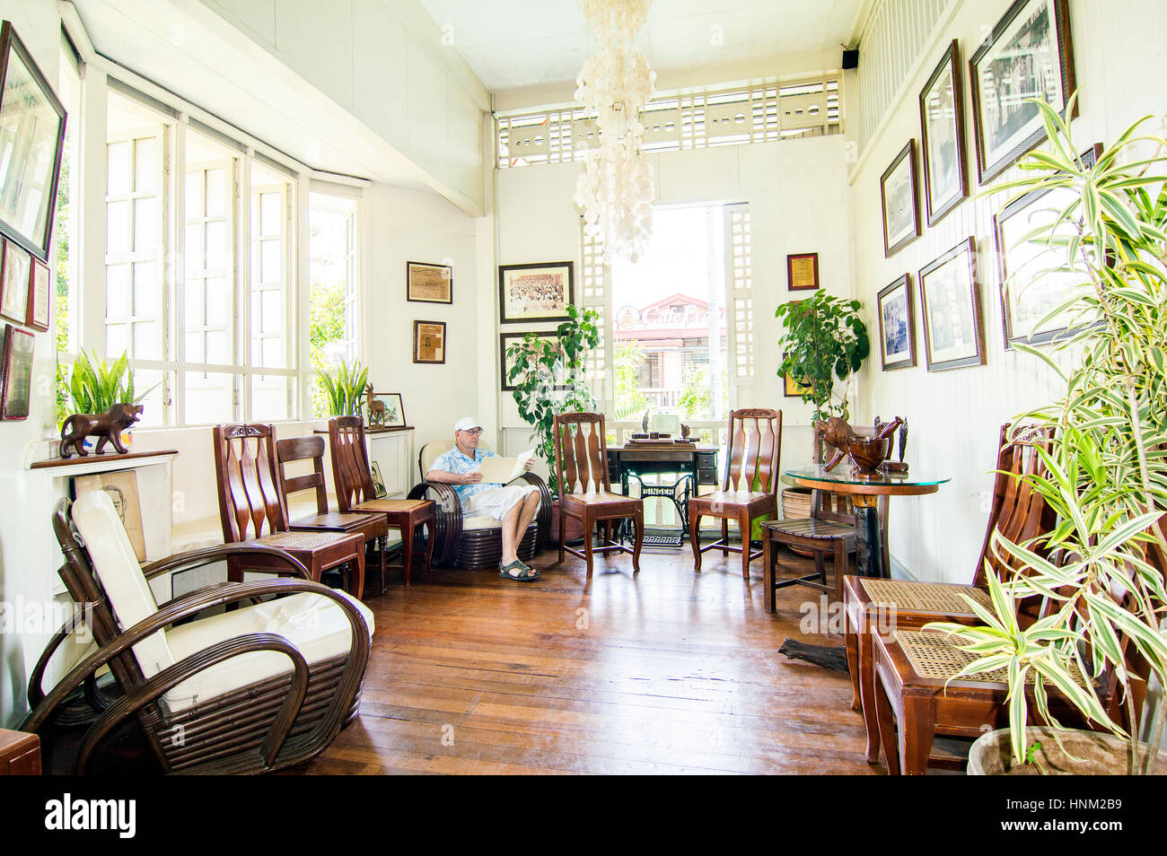 Delightful Veranda, Oboza Heritage House, Rizal Street, Davao, Davao Del Sur,  Philippines