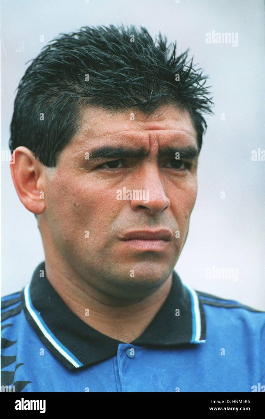 DIEGO MARADONA ARGENTINA 30 January 1996 Stock Royalty Free