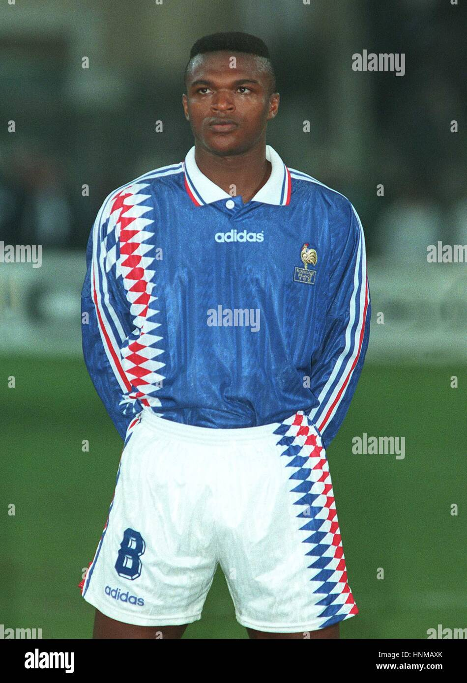 MARCEL DESAILLY FRANCE & AC MILAN 19 December 1995 Stock
