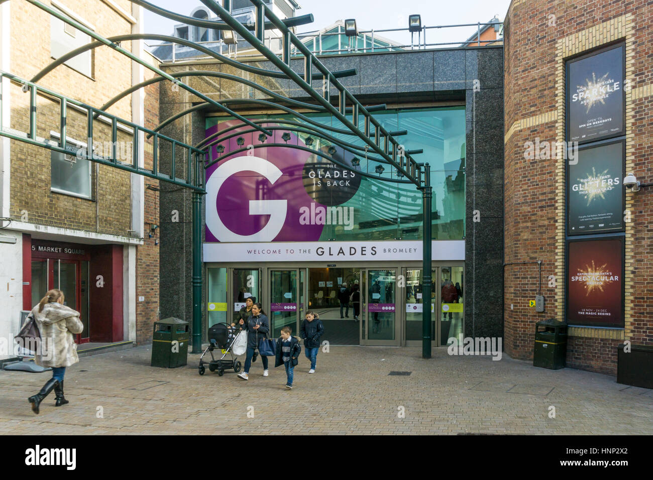 The glades shopping centre in bromley has returned to its for The bromley