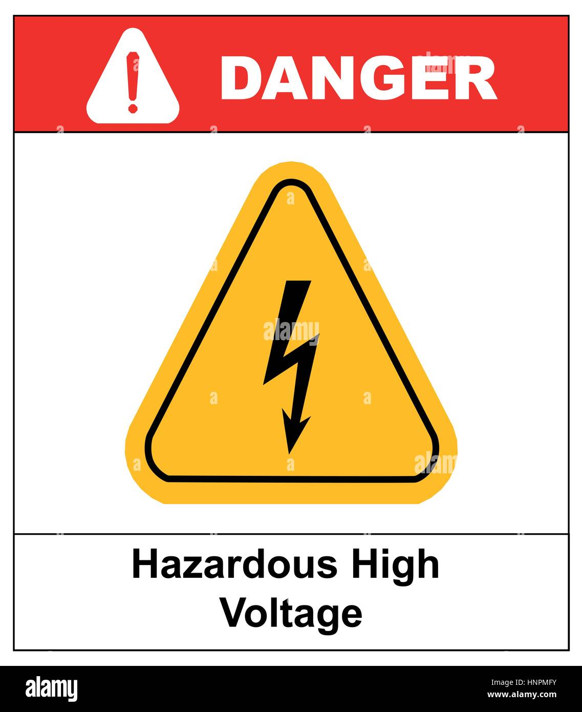 High voltage sign danger banner with text and exclamation point high voltage sign danger banner with text and exclamation point symbol black arrow isolated in yellow triangle on white background warning icon ve buycottarizona