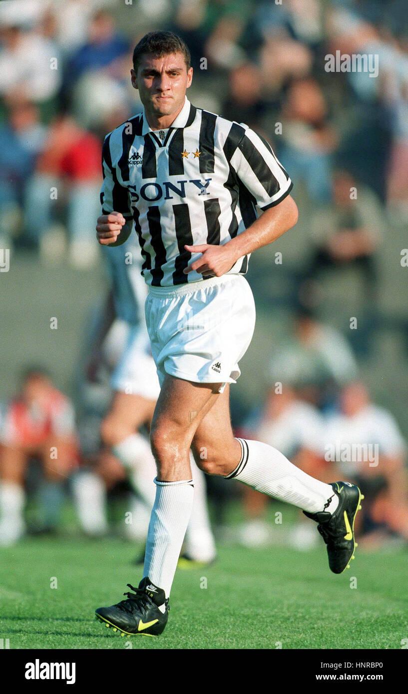 CHRISTIAN VIERI JUVENTUS FC 09 August 1996 Stock Royalty