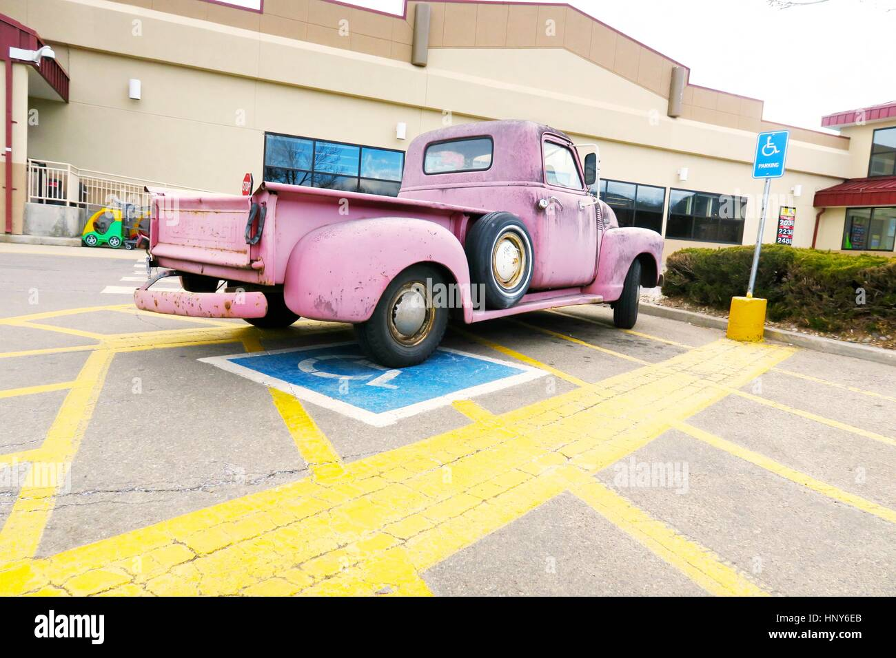pink truck memorabilia Stock Photo: 133978163 - Alamy