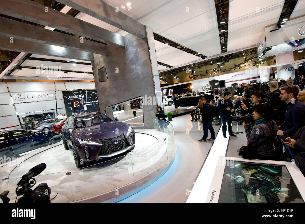 Toronto Canada Th February Lexus UX Concept Unveiled - Lexus dealership toronto