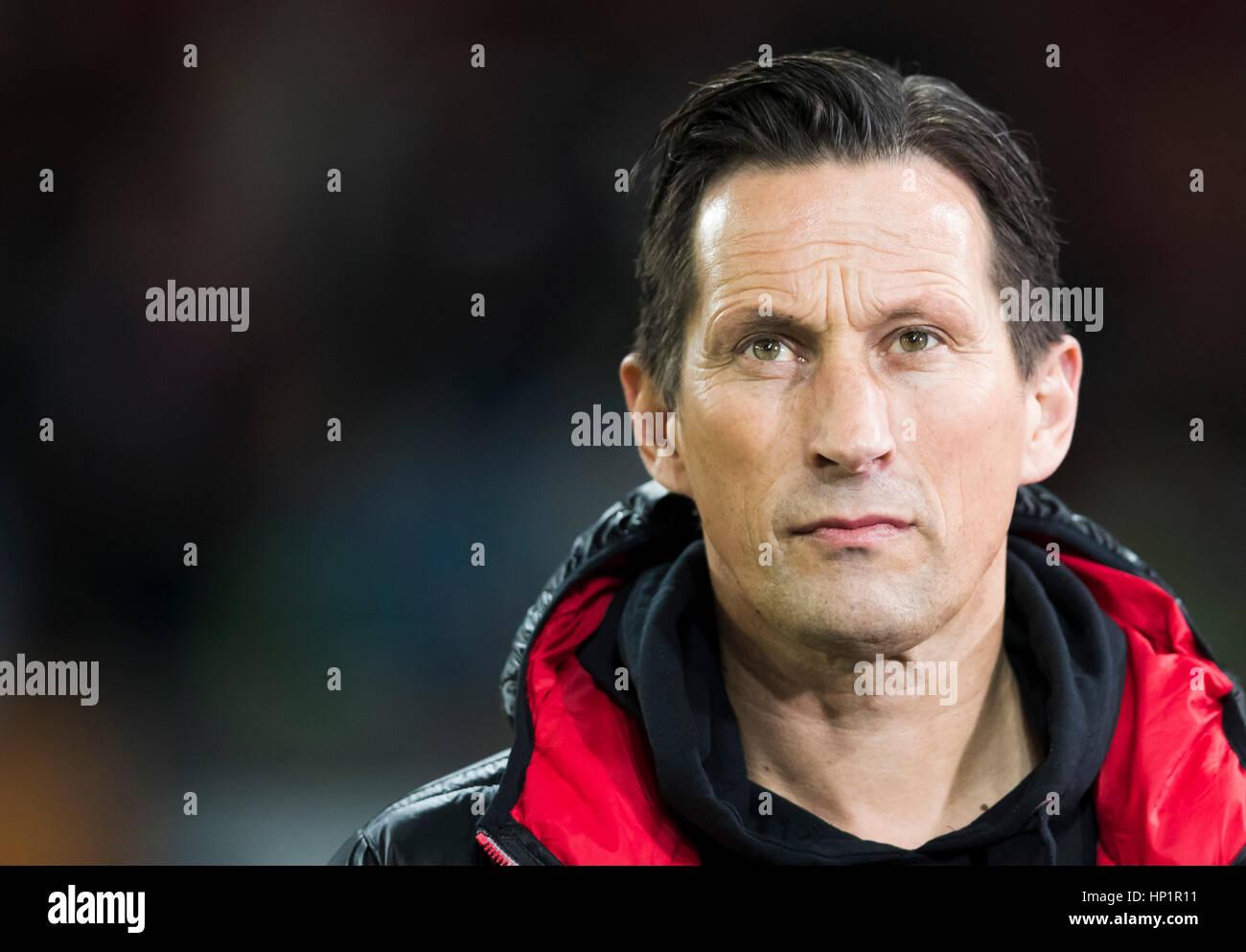 Roger Schatz augsburg germany 17 th february 2017 leverkusen coach roger