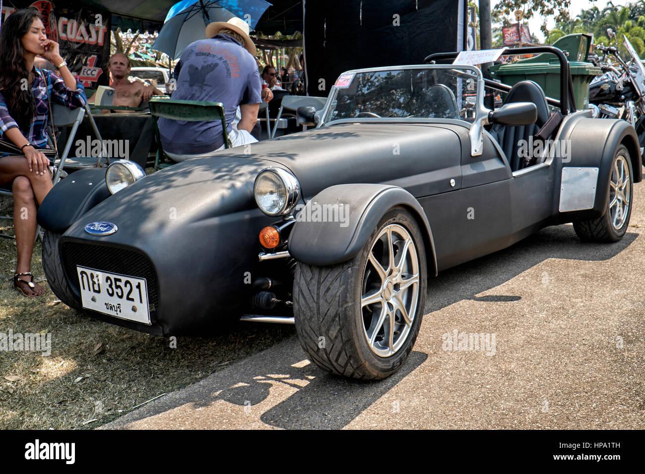 Lotus 7 kit car usa - Lotus Caterham Super 7 Kit Car Stock Image