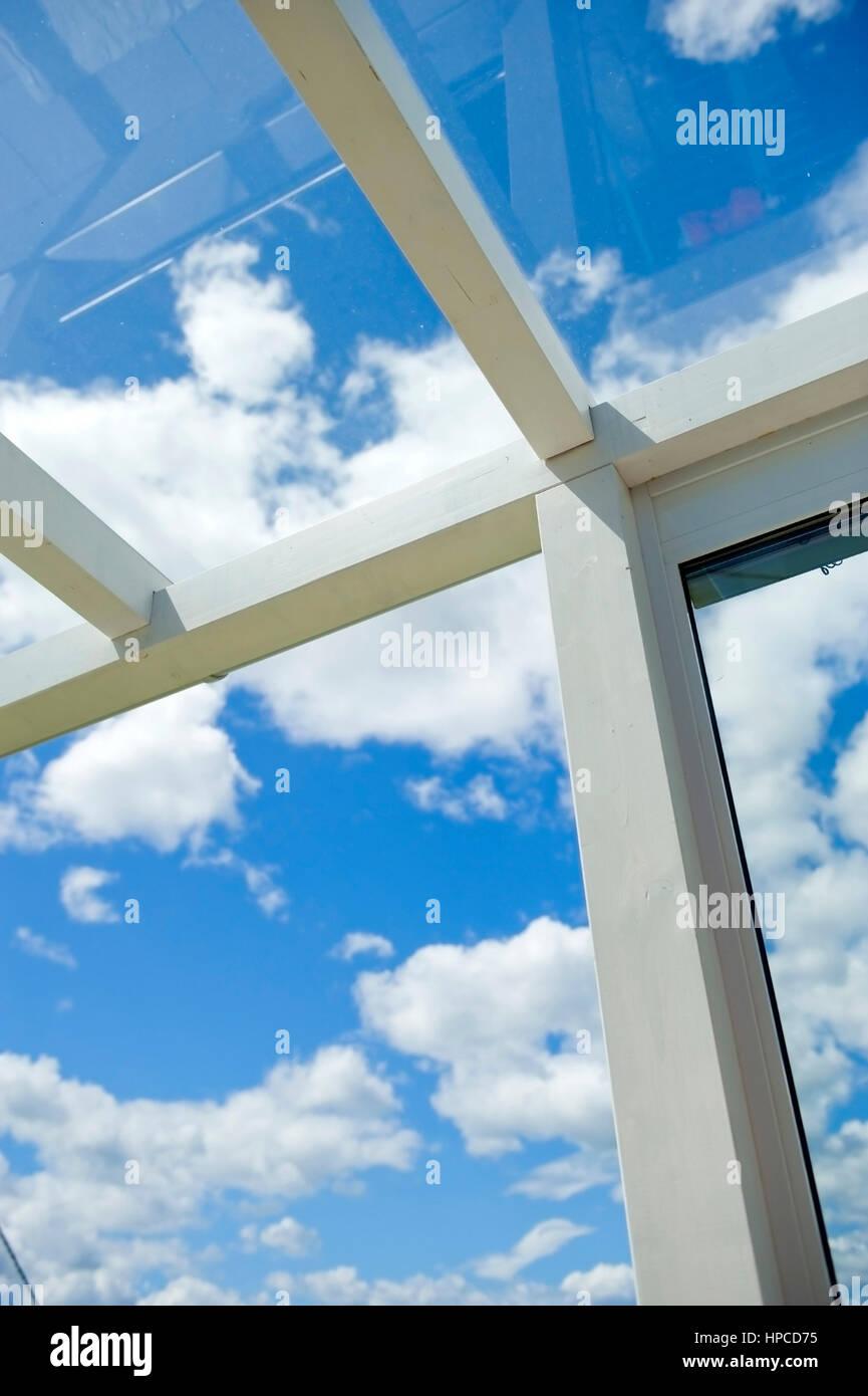 glassvegger til terrasse