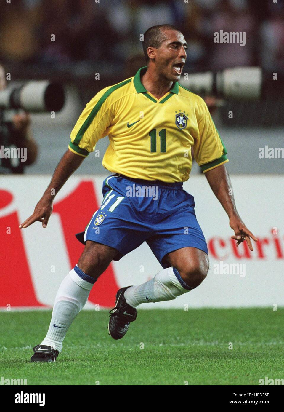 ROMARIO BRAZIL & FLAMENGO 13 June 1997 Stock Royalty Free