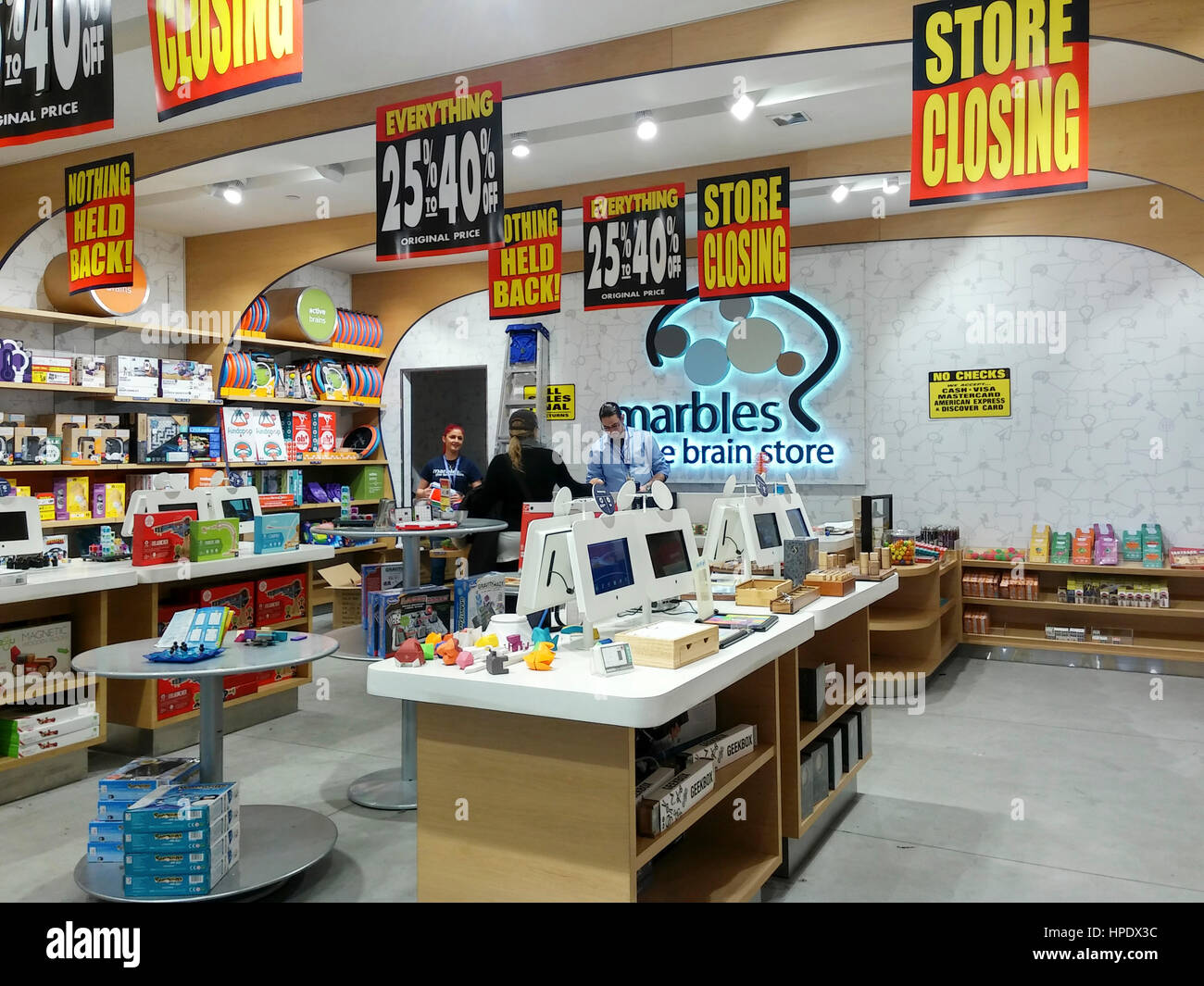 Toy Store Chain Stock Photos Toy Store Chain Stock Images Alamy - Marbles the brain store us map