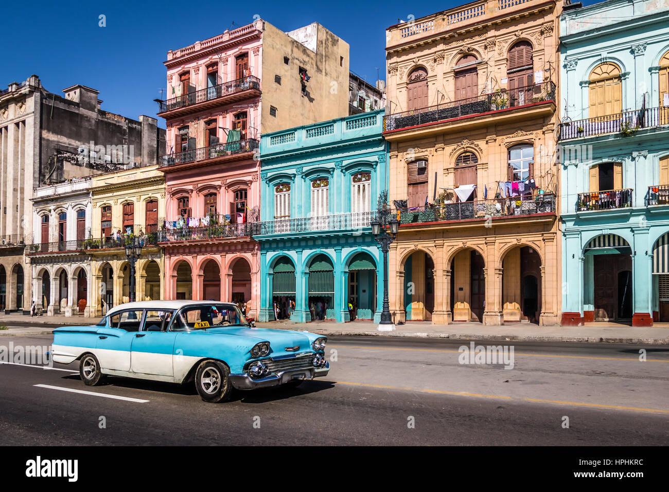 Old Cars Of Havana