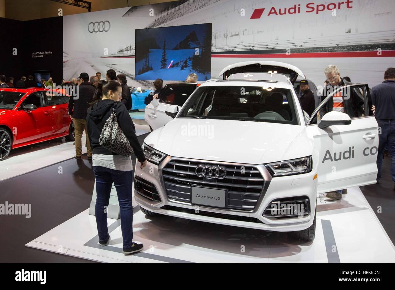 Toronto Ontario Canada Nd Feb The New Audi Q On - Audi toronto